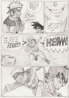 Goku vs Naruto page 1 by Nick-Kazama