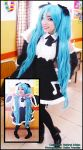 Miku Hatsune - Vocaloid 2 by Neferet-Cosplay