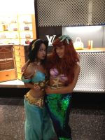 jasmine and ariel shop couture by fantasyaffaire by Fantasyaffaire