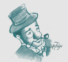The Bourgeois Gentleman by gordonf98