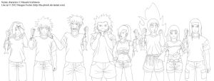 NaruFest Week 2 Team Collab Lines by The-Phisch