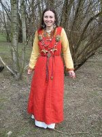 Brahdelt's Viking Dress III by HistoricCostume