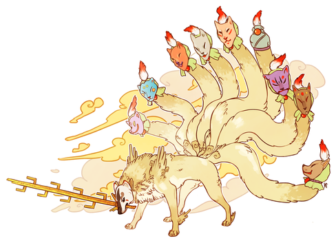 The Nine-Tailed Fox by Susiron
