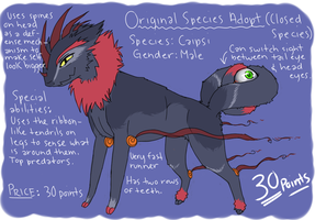 {Original Species Adopt} Male Caipsi {CLOSED} by here-kitty--kitty