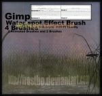 Spot Water Effect GIMP by FrostBo