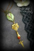 Lady Macbeth: Vulva Pendant by VulvaLoveLovely