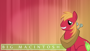 Big Macintosh HD Wallpaper by Kanjimari