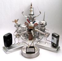 Robo Band - Robot Sculptures by adoptabot