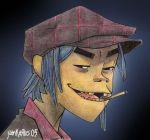2-D for AlboPunk by JuanKarlos
