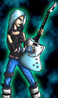 Pandora: Guitar Hero I by Aggiepuff