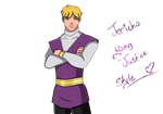 Jericho Young Justice Style by SnowOfDahila