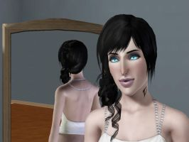Sim in Sims 3 female vampire by ChewChewLovesYou