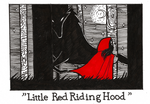 Inktober day 23 - Little Red Riding Hood by Kaizoku-hime