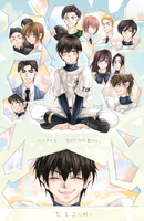 Diamond no Ace - Happy birthday, Sawamura! by Yurica
