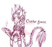 Crystal Quartz remade by FuneralDyingheart