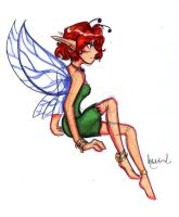 Fairy Lady - Colored Sketch by Yumi-San1688