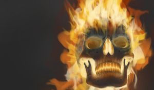 New Ghost Rider piece PREVIEW by CVDart1990