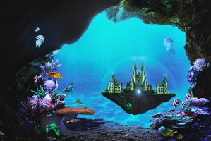 Underwater Palace by jonrek2014