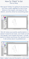 Icy's Painting Tutorial by IceBIue