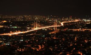 Bosphorus Bridge by Servetinci