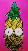Pineapple Homer by AnalieKate