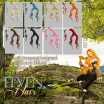 Elven HAIR STOCK by Trisste-stocks