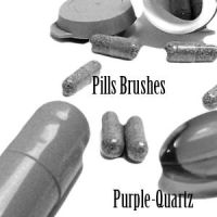 Pills Brushes by Purple-Quartz-Brush
