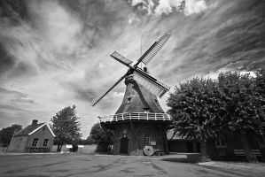 The Windmill by Regadenzia