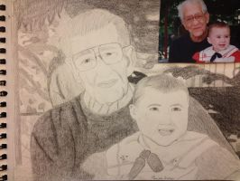 My Grandfather and I by Marissa1997