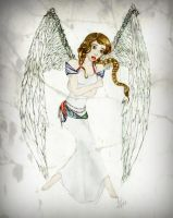 Angel in Distress by Alaminia