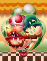 Super Wacky Mario Bros.!! by MarkProductions