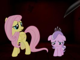 Kill Fluttershy or Diamond Tiara (read first) by TheMasterofDespair