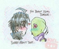 ::ZADR:: Dangers of Kissing by TheSmallestInvader
