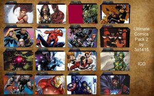 Ultimate Comics Folder Icons 2 by 3o1415