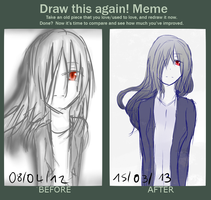 Draw it again Meme by YumeNatsuki