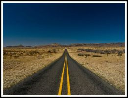 The road west by justfrog