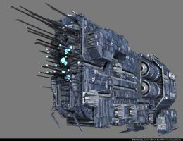 EVE starship contest Gunionn_1 by 2000yearsoldman