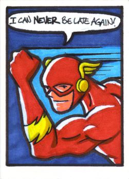 The Flash Sketch Card by whipsmartbanky