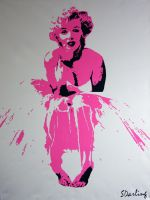 Marilyn Monroe by SDarling