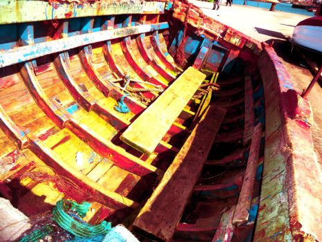 Stained Boat by AnisMegharia
