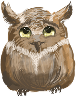Request: Horned Owl by graffiti-blaze