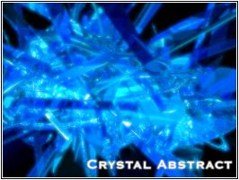Crystal Abstract by 18Designs