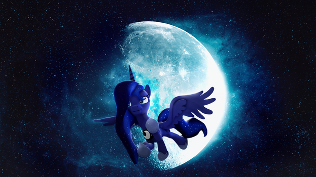 Luna in the Moonlight by Sharimapic