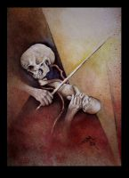 the violinist by imagist