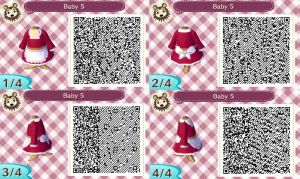 Animal crossing Qr code : One piece Baby 5 by IamNasher