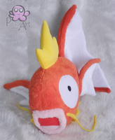 Magikarp plush by PinkuArt