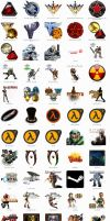 Game Icons by Alphathon