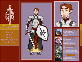 Knight-Commander Alexandre by whipyohair