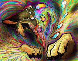 psychedelic hell by n-creeps