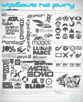 Wipeout HD Fury Shapes Mega Pack + Resources by Liger-Inuzuka